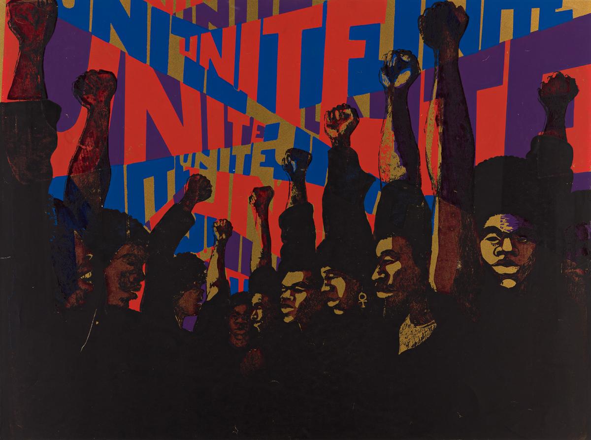 BARBARA JONES-HOGU (1938 -  ) Unite.