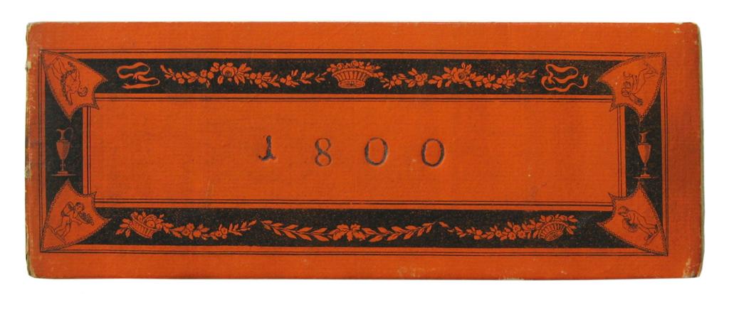 ALMANAC.  Grosser Leipziger Etui-Kalender auf das Jahr 1800.  [1799?]