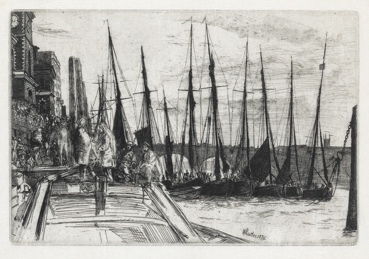 JAMES A. M. WHISTLER Billingsgate.