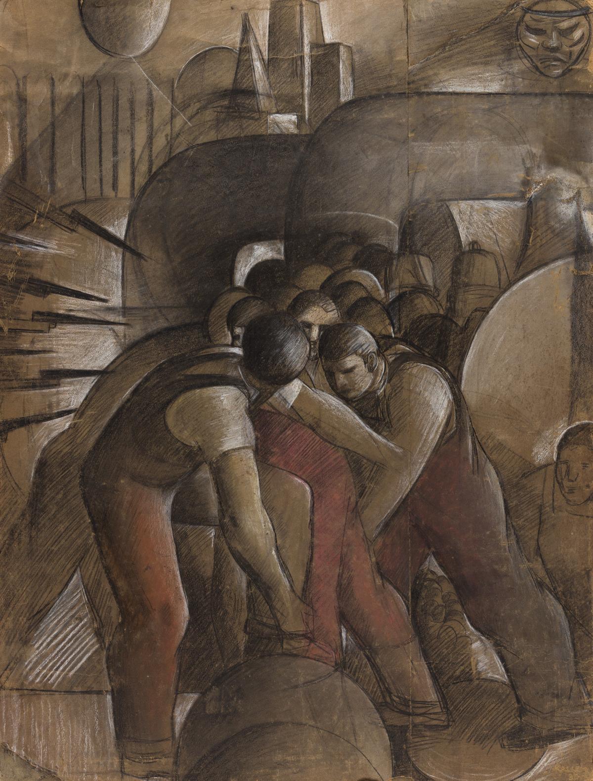 HENRY KALLEM (1912-1985) Untitled.