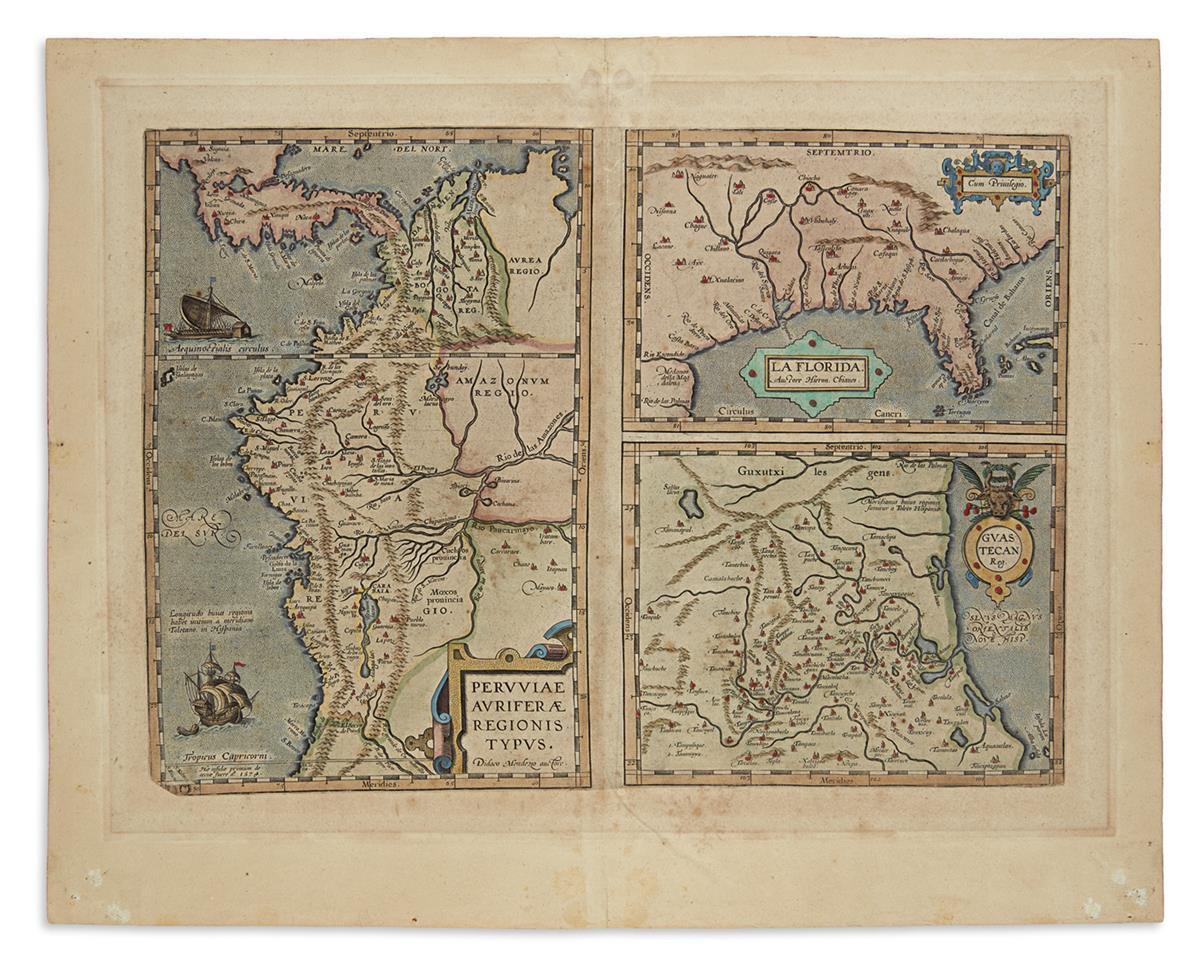 ORTELIUS-ABRAHAM-La-Florida--Guastecan-Reg--Peruviae-Aurifer