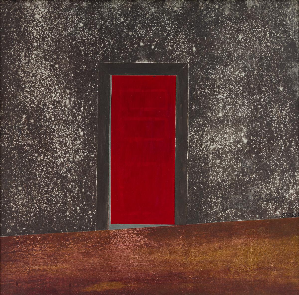 FREDDIE STYLES (1944-) The Red Door.