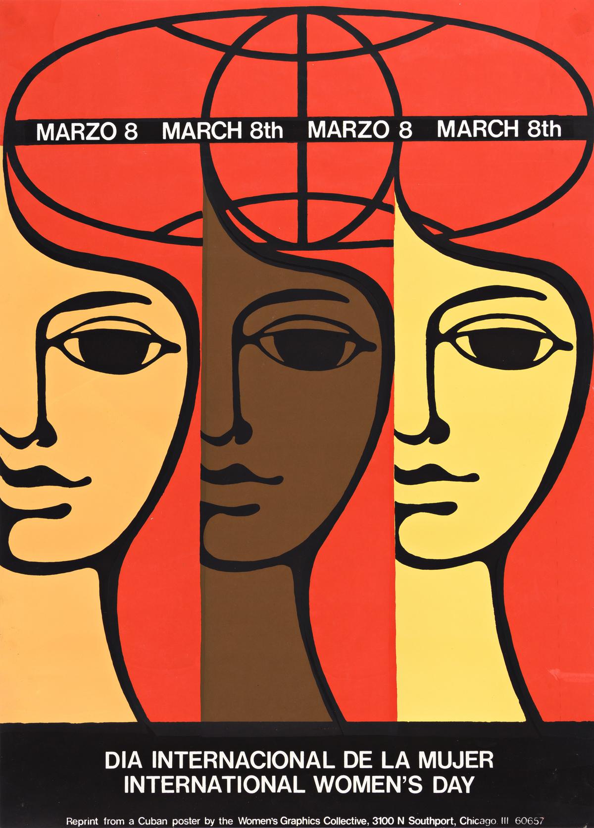 Womens Graphics Collective. Dia Internacional De La Mujer: International Womens Day Poster.