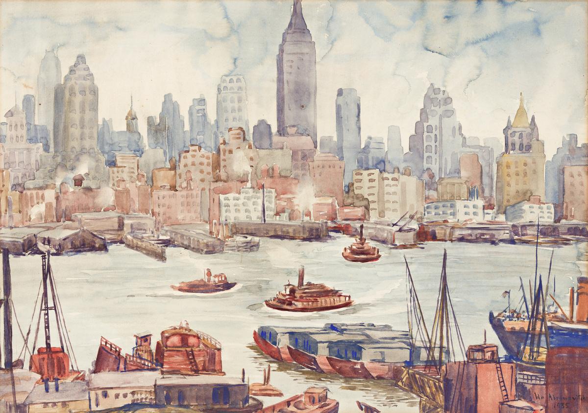 IDA ABRAMOVICH New York Skyline.