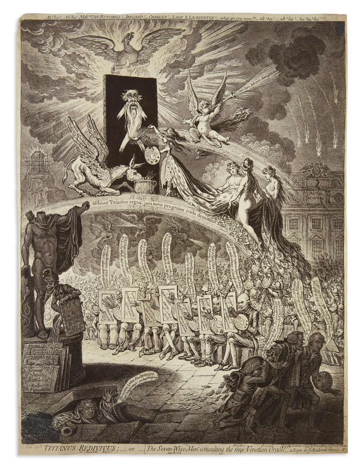 GILLRAY-JAMES-Titianus-Redivivus;orThe-Seven-Wise-Men-Consul