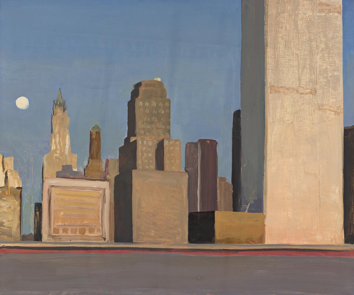 CHRISTIAN WHITE World Trade Center from Battery Park City, New York.