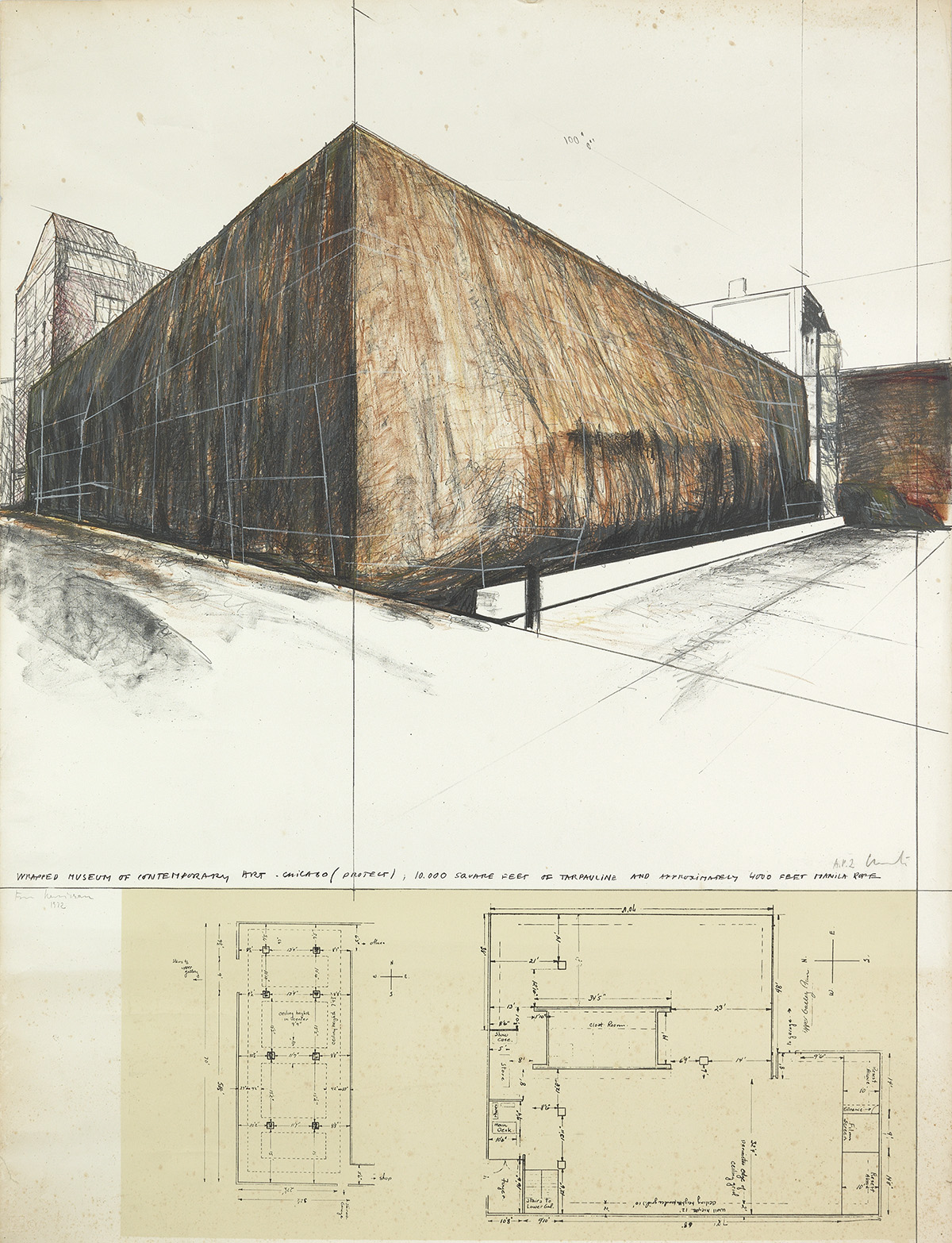 CHRISTO-Wrapped-Museum-of-Contemporary-Art-Project-for-Chica
