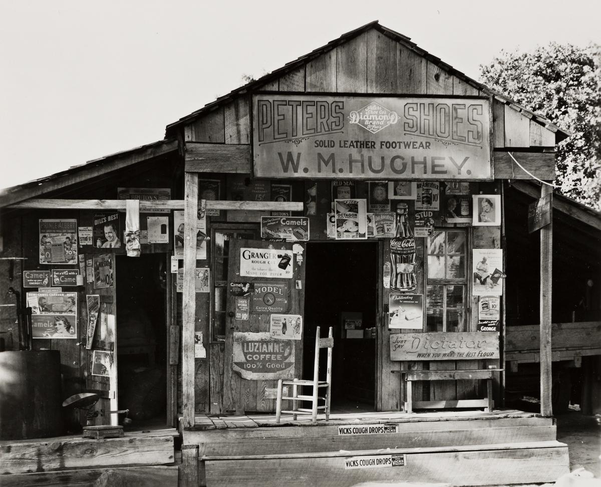 WALKER EVANS (1903-1975) Country store near Moundville, Alabama, Summer.