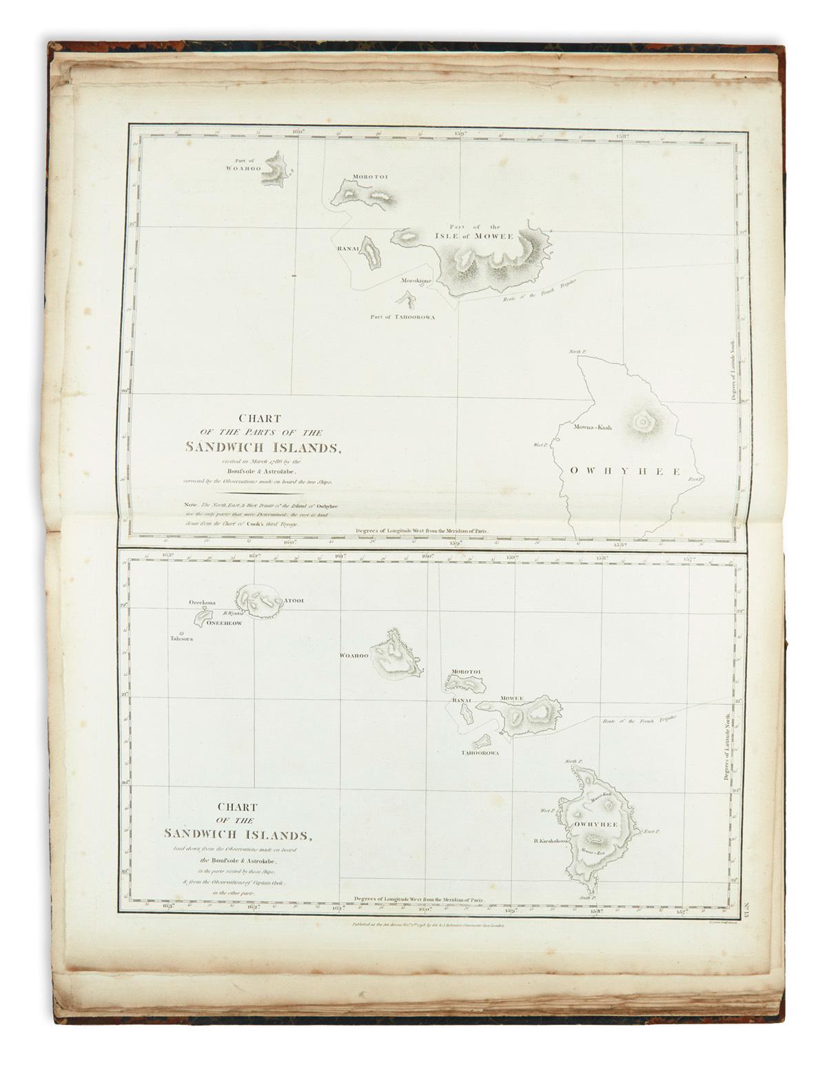 LA-PÉROUSE-JEAN-FRANÇOIS-DE-GALAUP-Comte-de-Charts-and-Plate