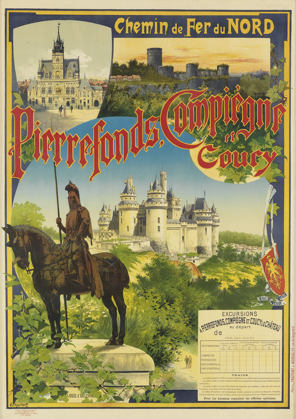 VARIOUS-ARTISTS-[FRENCH-TRAVEL--EXPOSITION]-Two-posters-Circ