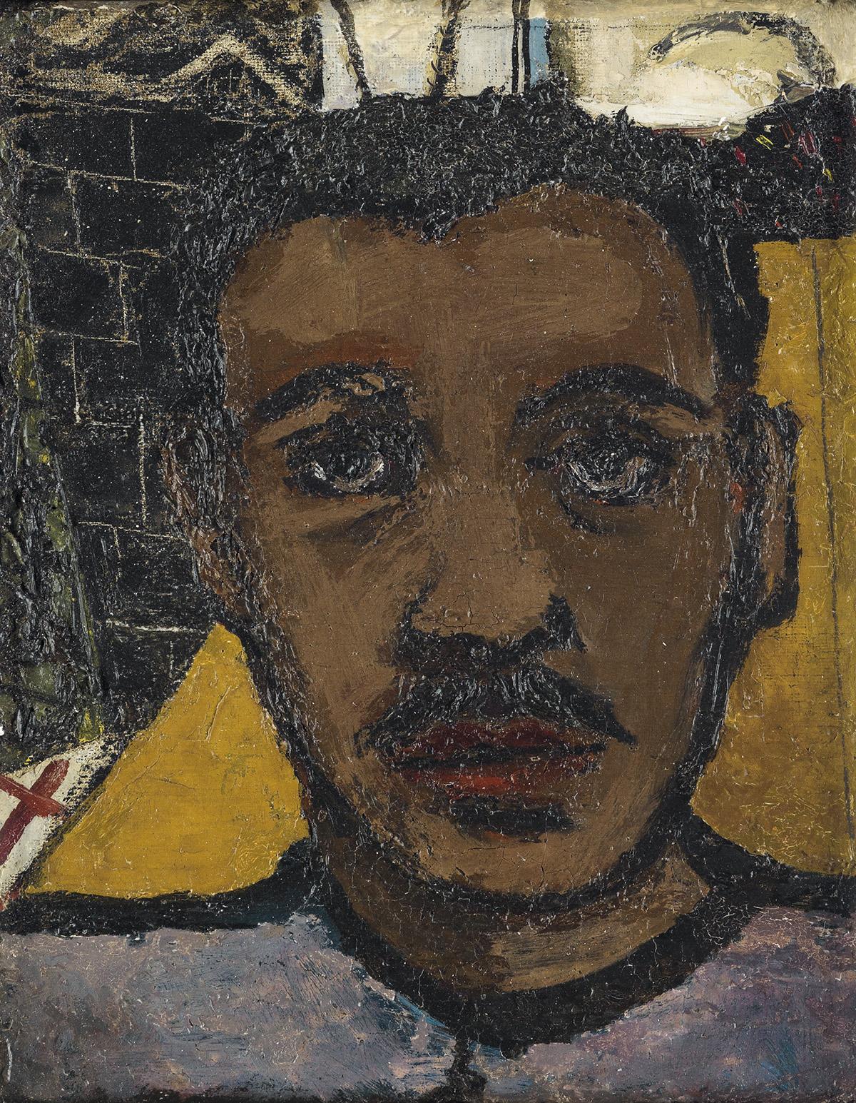 JOSEPH-DELANEY-(1904---1981)-Untitled-(Self-Portrait)