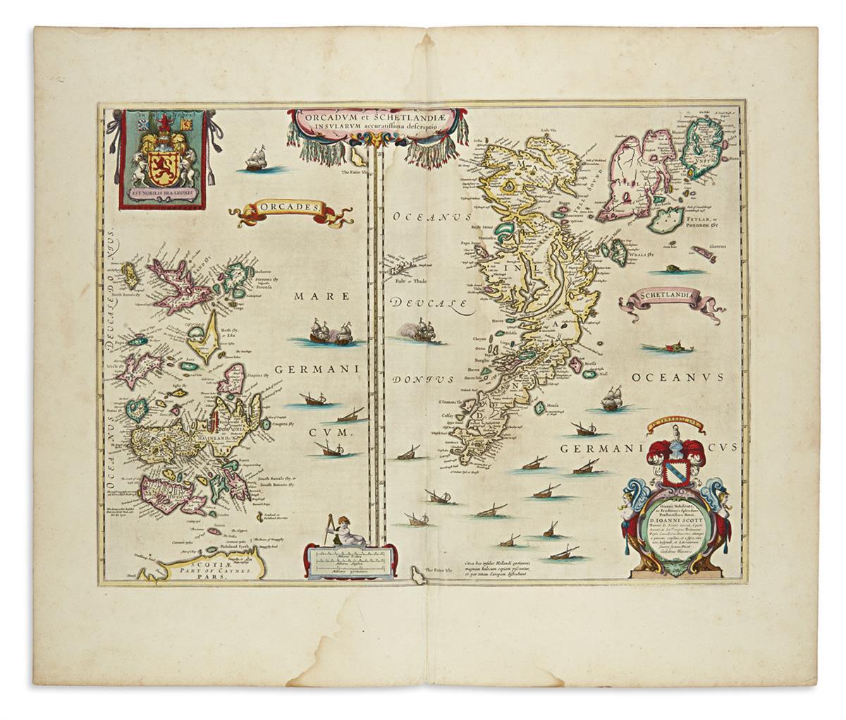 (SCOTLAND)-Blaeu-Willem-Orcandum-et-Schetlandiae-Insularum-A