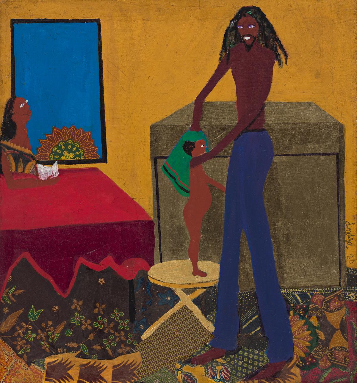 DINDGA MCCANNON (1947 - ) Black Family.