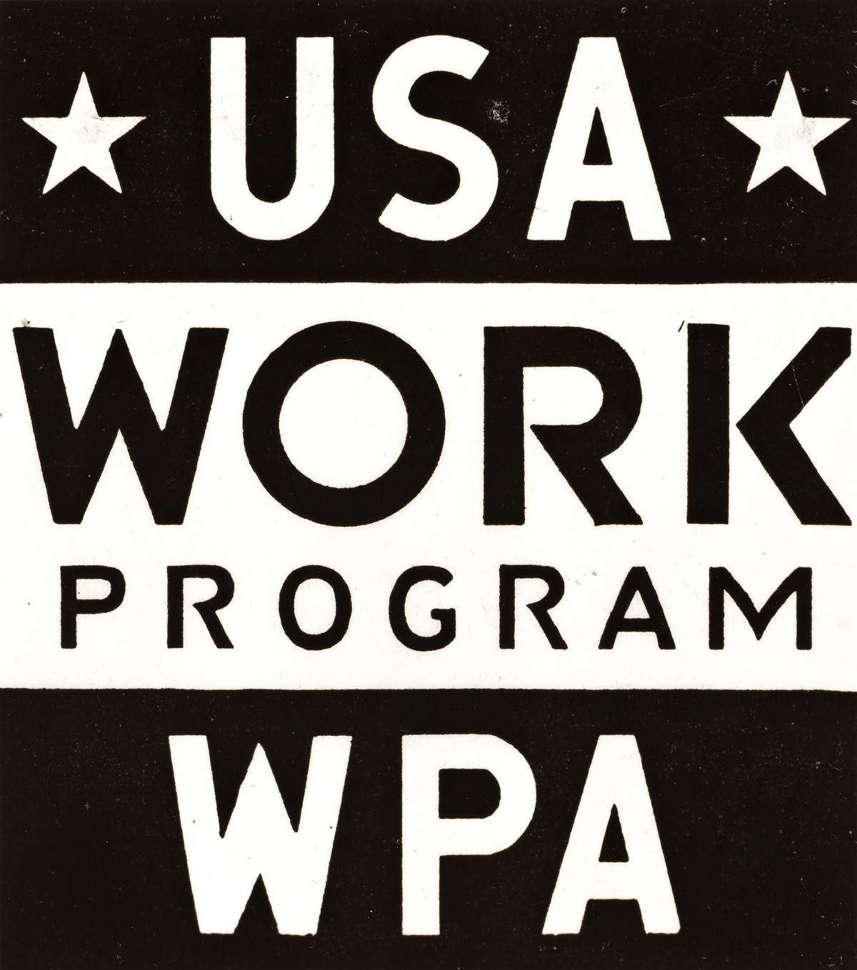 (WPA PRESS PRINTS) A selection of 12 vintage press and publicity photographs documenting the WPA, many with WPA signage, as well as FDR