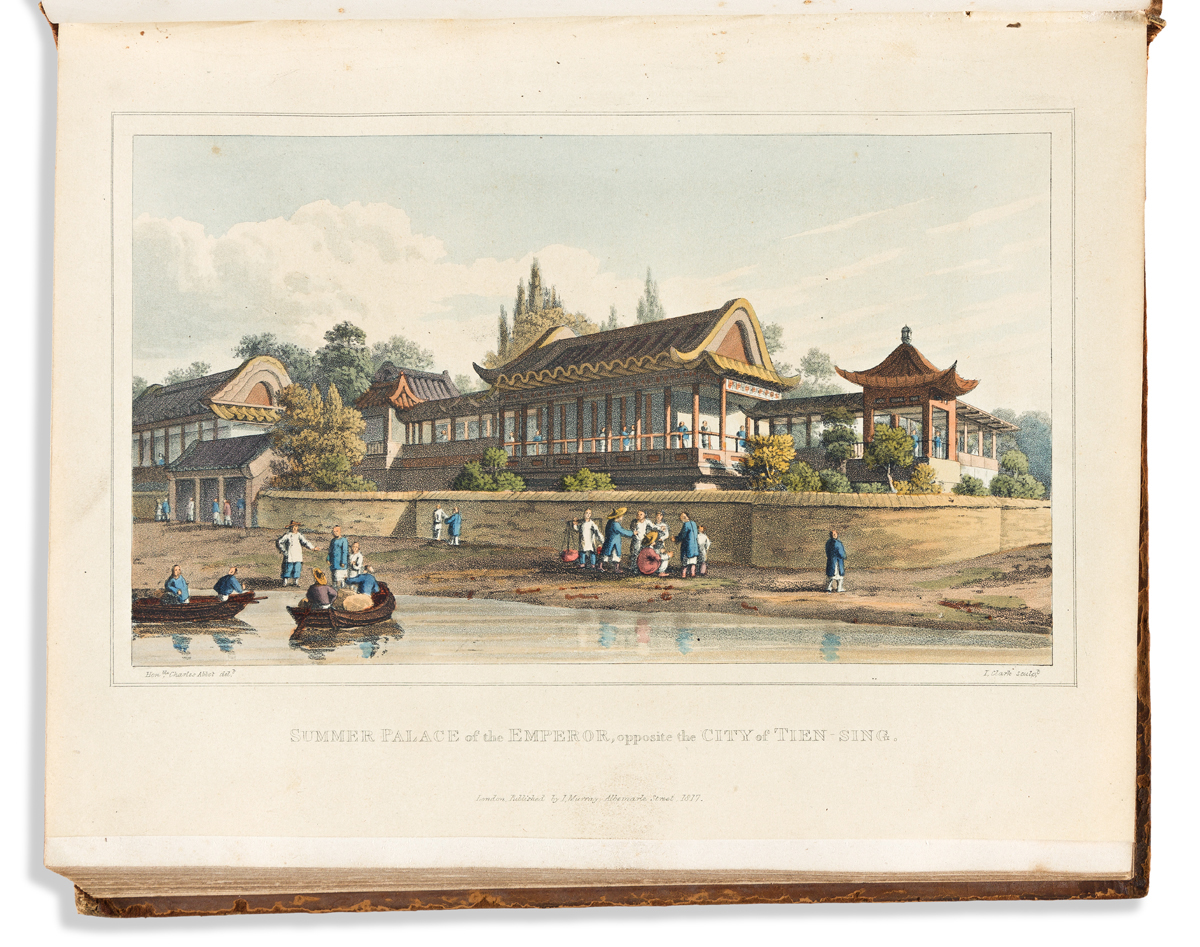 Ellis, Sir Henry (1788-1855) Journal of the Proceedings of the Late Embassy to China.