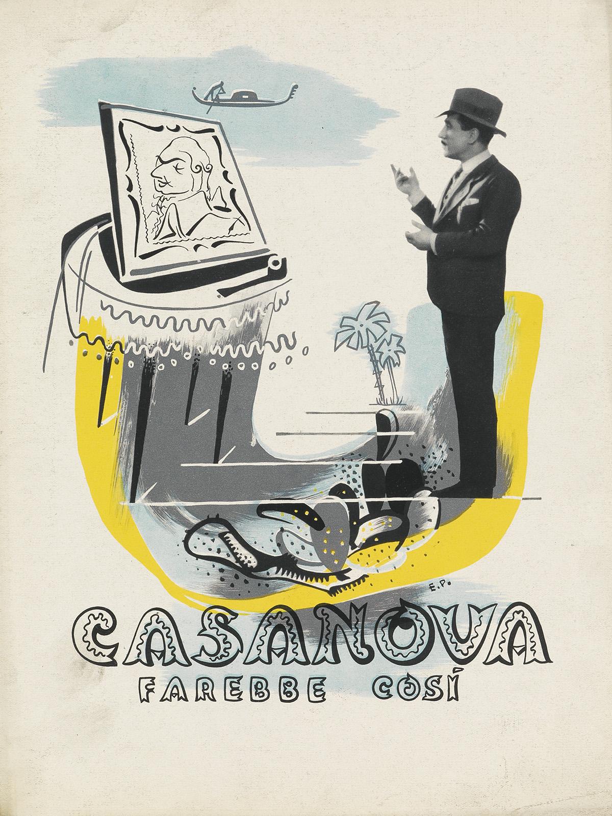 ENRICO-PRAMPOLINI-(1894-1956)-CASANOVA--FAREBBE-COSI-Promoti