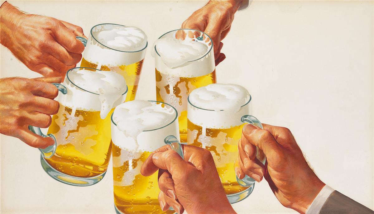 ADVERTISING--BEER-Cheers
