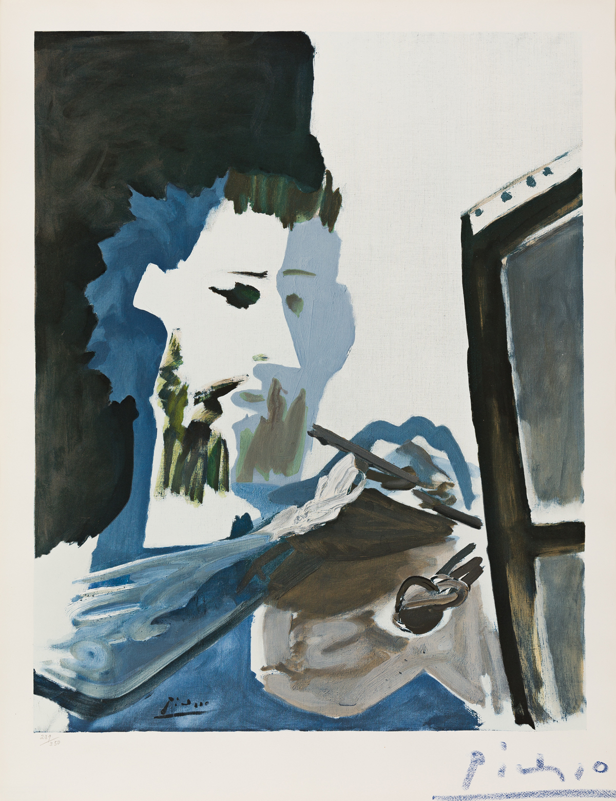 PABLO PICASSO (after) Le Peintre
