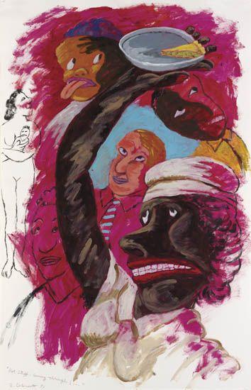ROBERT-COLESCOTT-(1925---2009)-Hot-Stuff----Coming-Through
