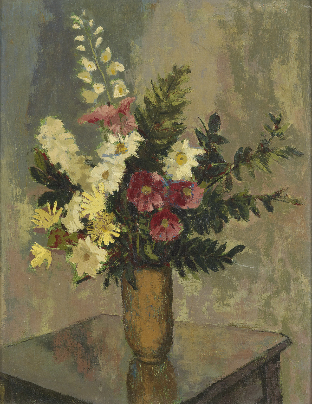 HUGHIE-LEE-SMITH-(1915---1999)-Untitled-(Floral-Still-Life)