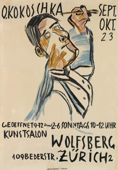 OSKAR-KOKOSCHKA-(1886-1980)-O-KOKOSCHKA--KUNSTSALON-WOLFSBER