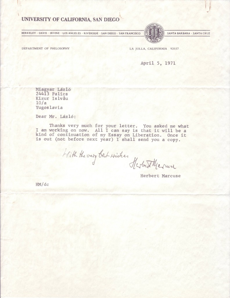 MARCUSE-HERBERT-Typed-Letter-Signed-and-Inscribed-With-the-v