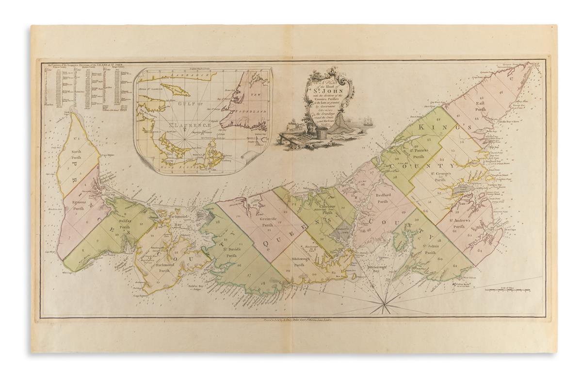 (CANADA)-Holland-Samuel;-and-Jefferys-Thomas-A-Plan-of-the-I