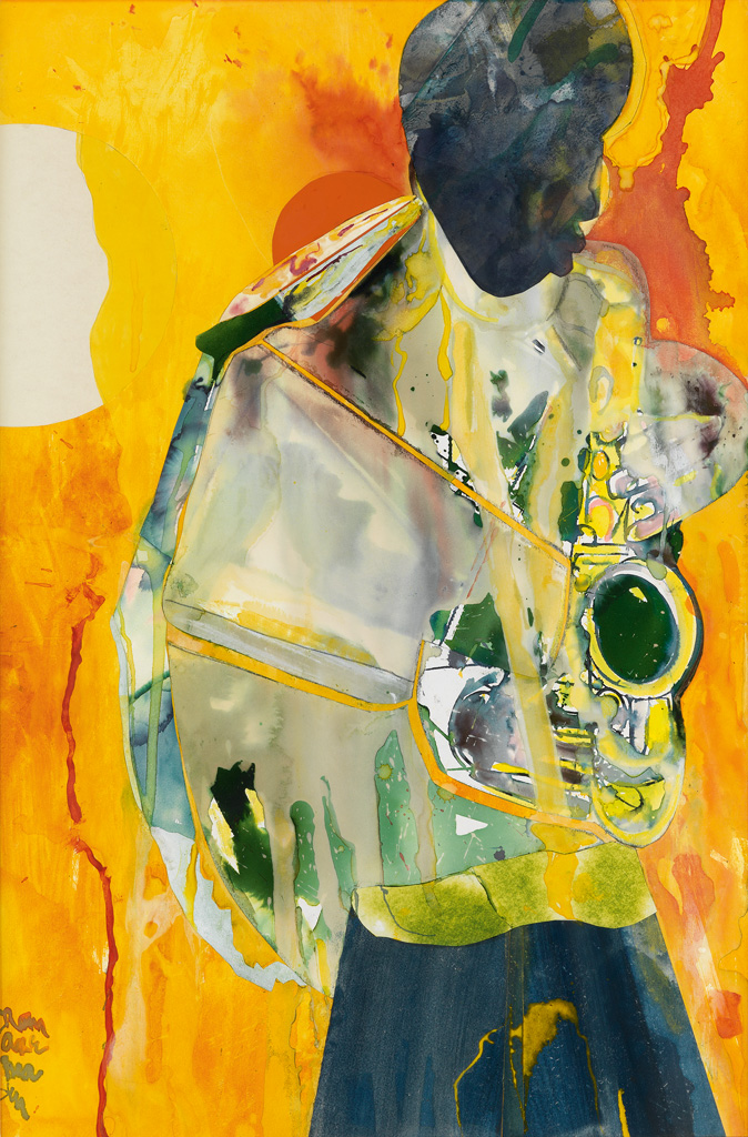 ROMARE-BEARDEN-(1911---1988)-All-The-Things-You-Are