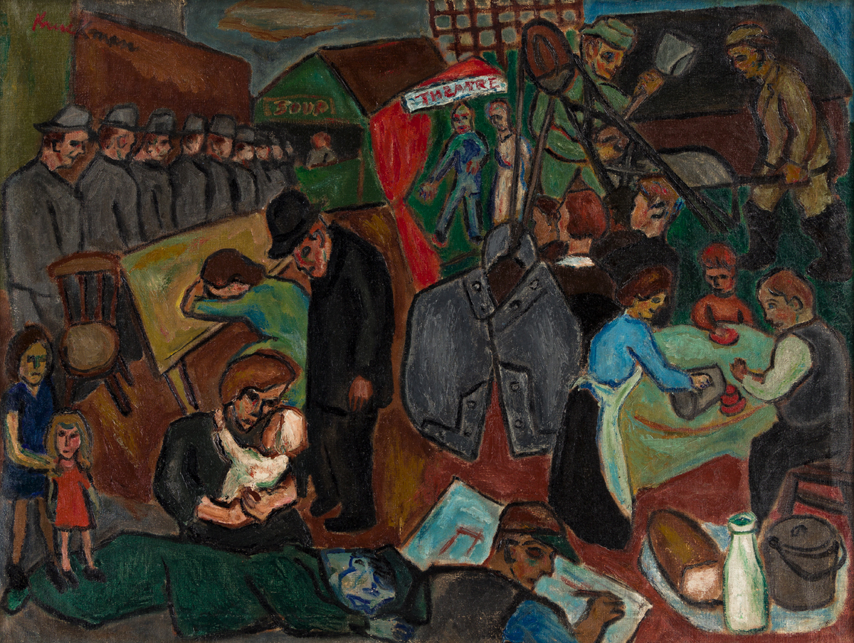 HERBERT KRUCKMAN (1904-1998) The Depression and the New Deal.