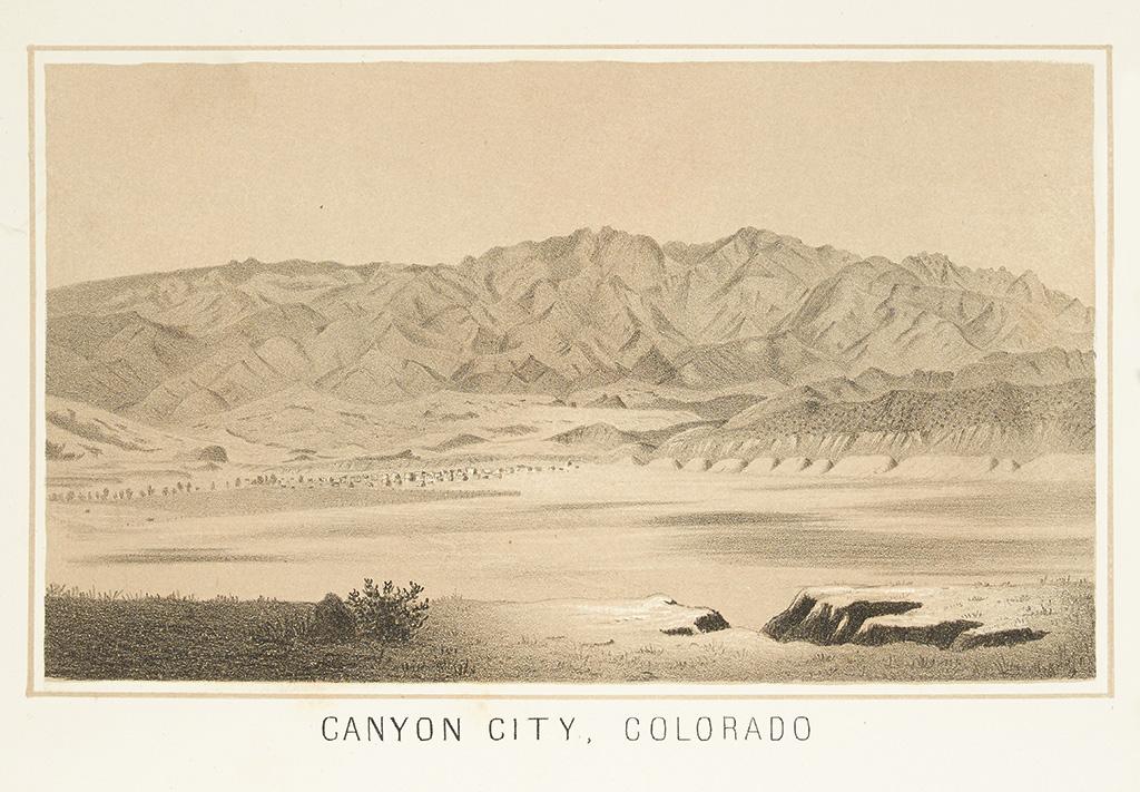 (COLORADO.) Mathews, Alfred E. Canyon City, Colorado, and its Surroundings.