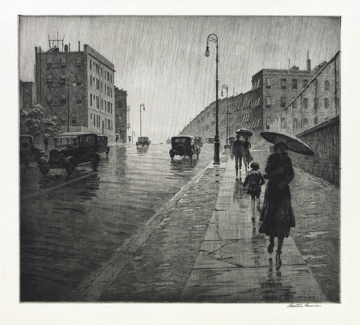 MARTIN-LEWIS-Rainy-Day-Queens