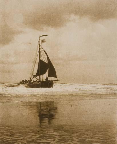 STIEGLITZ-ALFRED-(1864-1946)-The-Incoming-Boat--Goats-along-