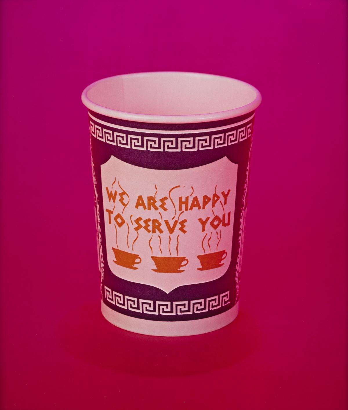 NEIL WINOKUR (1945- ) Coffee Cup.