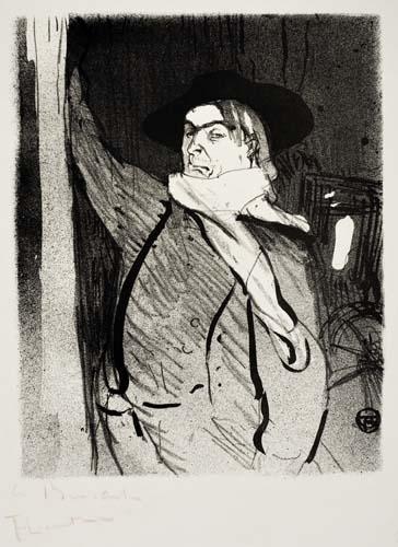 HENRI-DE-TOULOUSE-LAUTREC-(1864-1901)-ARISTIDE-BRUANT-Plate-