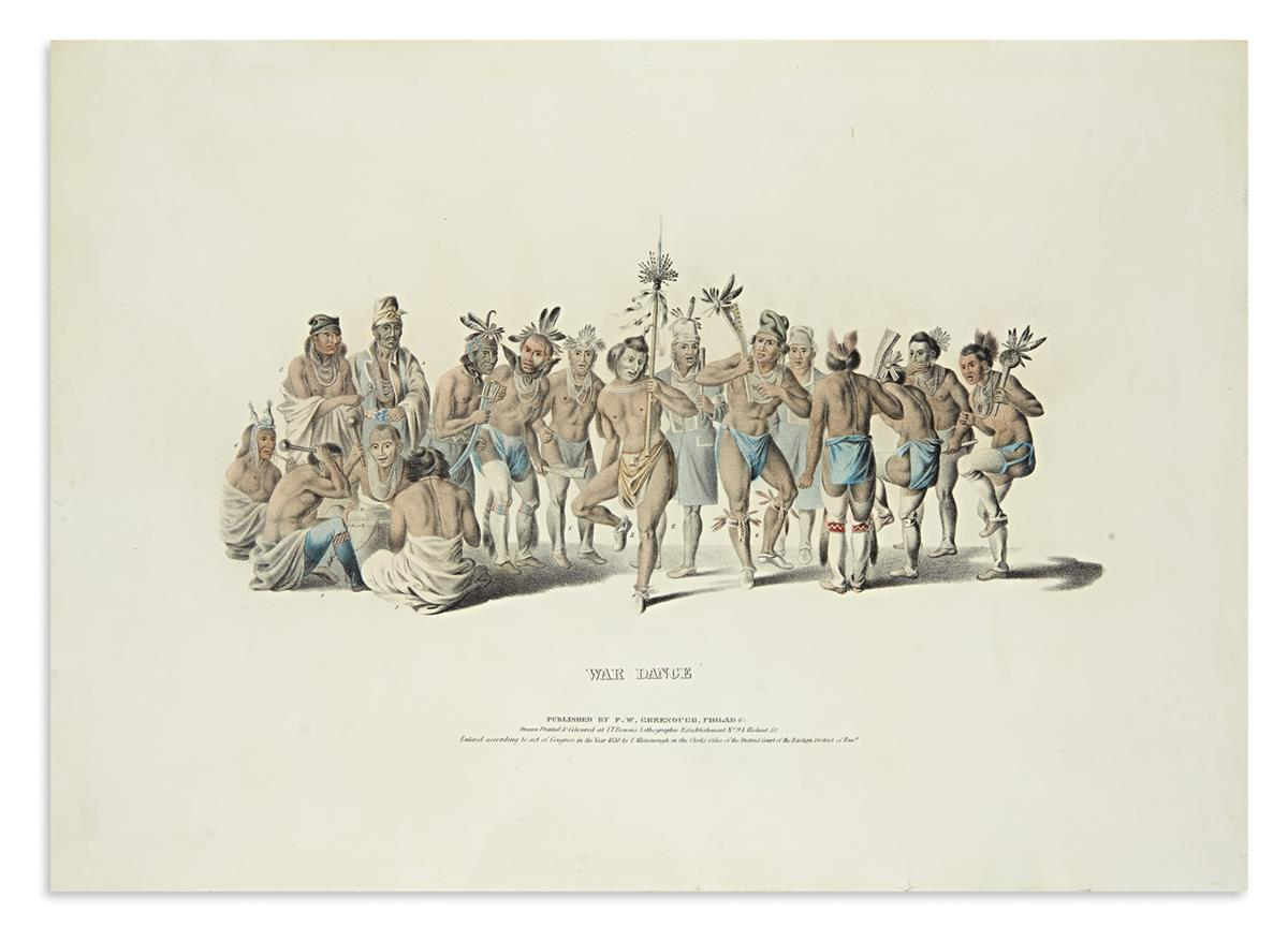 MCKENNEY-THOMAS;-and-HALL-JAMES-Group-of-5-lithographed-plat
