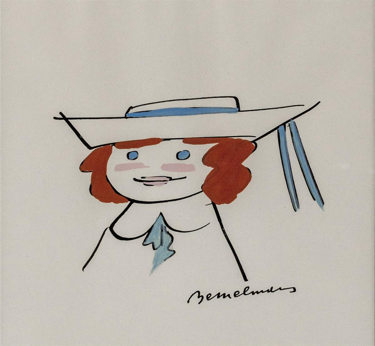LUDWIG-BEMELMANS-Portrait-of-Madeline-[CHILDRENS]