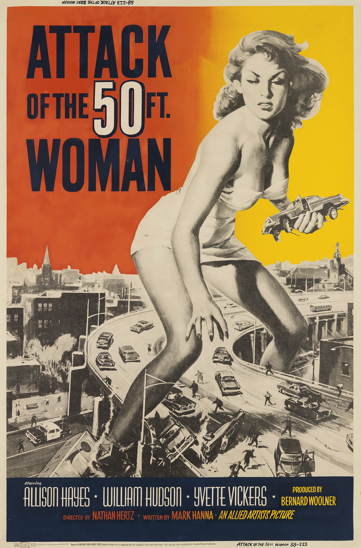 DESIGNER-UNKNOWN-ATTACK-OF-THE-50-FT-WOMAN-1958-60x40-inches