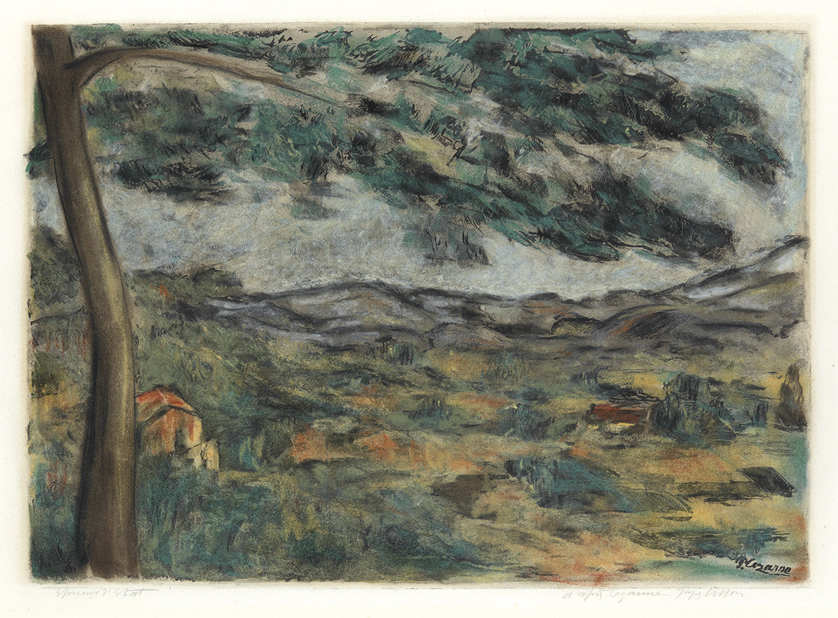PAUL CÉZANNE (after) La Montagne Sainte-Victoire