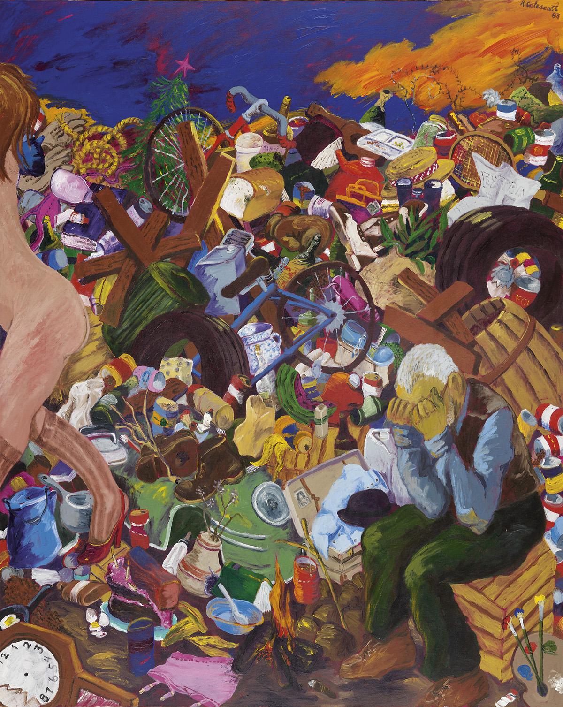 ROBERT COLESCOTT (1925 - 2009) Down in the Dumps: So Long Sweetheart.