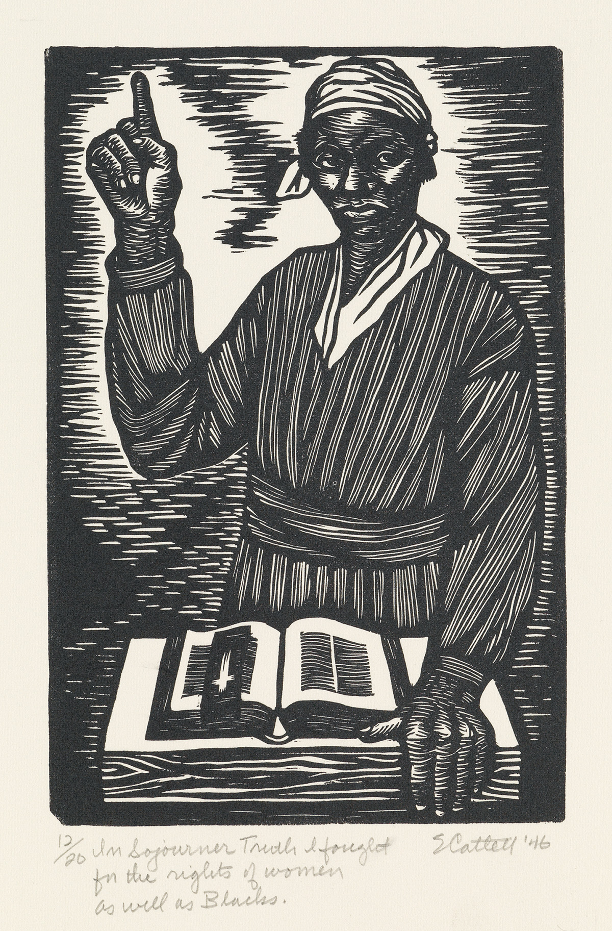ELIZABETH-CATLETT-(1915---2012)-In-Sojourner-Truth-I-fought-
