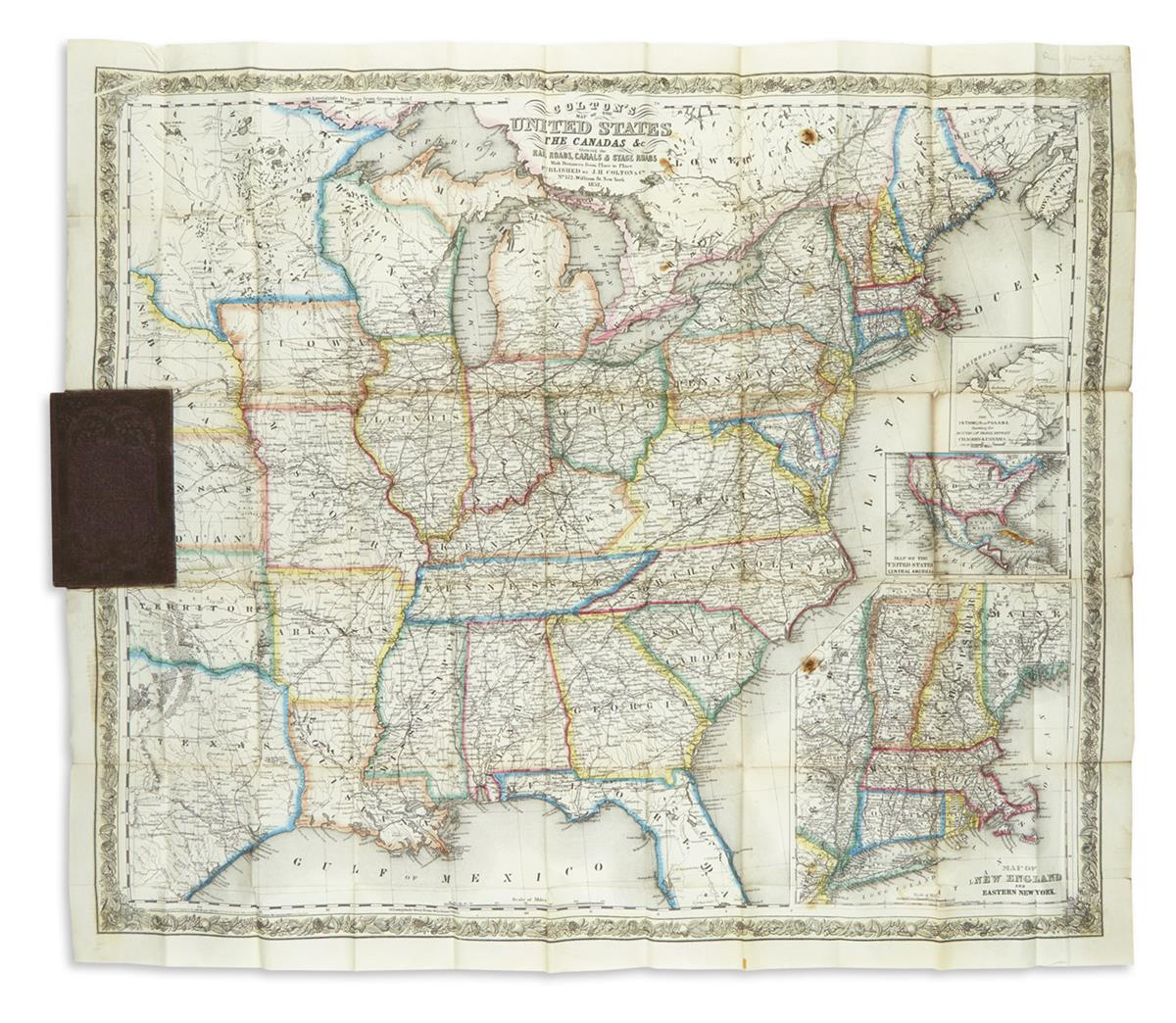 COLTON-JOSEPH-HUTCHINS-Coltons-Map-of-the-United-States-the-