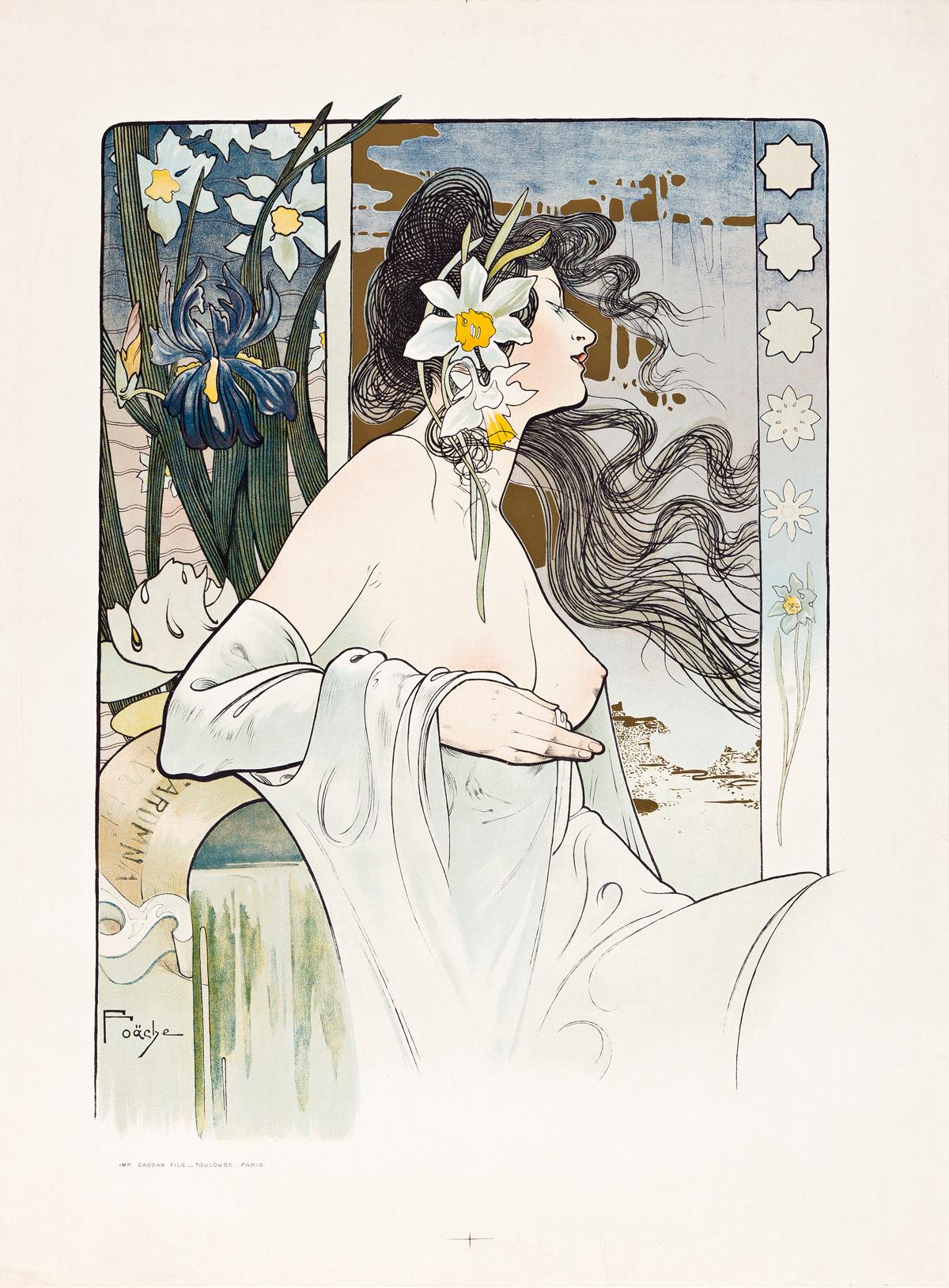 ARTHUR FOACHE (1871-1967).  [LA GARONNE.] 1898. 27x20 inches, 69x51 cm. Cassan Fils, Toulouse.