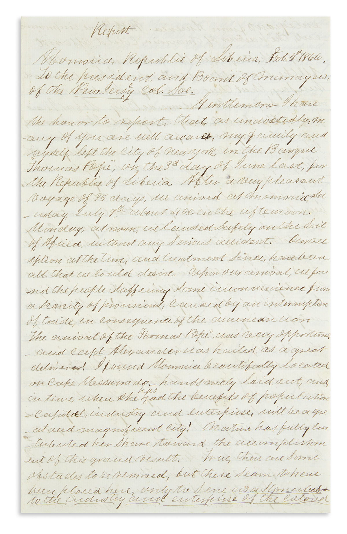 (AFRICAN-AMERICANS)-Johnson-Henry-W-Letter-written-as-a-prom
