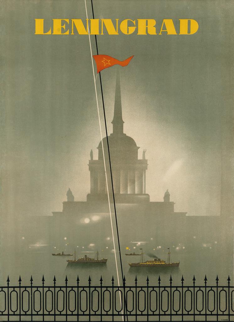 NIKOLAY-ZHUKOV-(1908-1973)-LENINGRAD-1935-37x27-inches-95x69