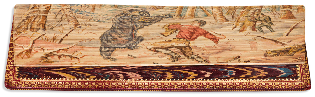 (FORE-EDGE PAINTING.) Harte, Bret. The Poetical Works.