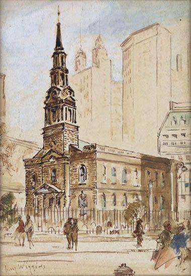 GUY-CARLTON-WIGGINS-Trinity-Church-New-York