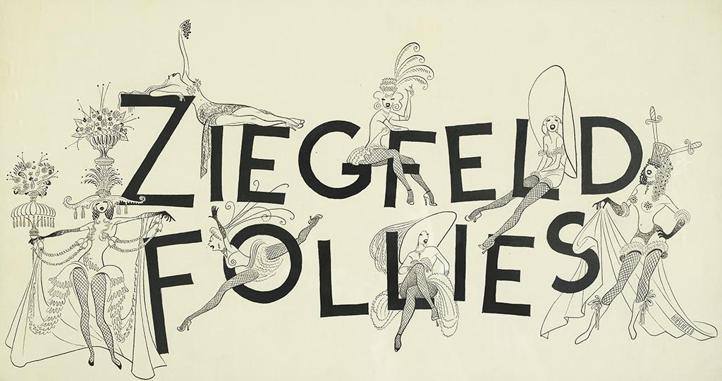 AL HIRSCHFELD. Ziegfeld Follies.
