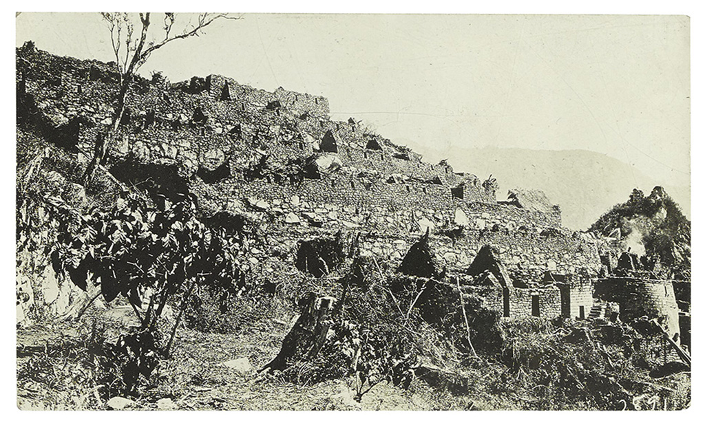 (PERUVIAN ARCHAEOLOGY.) Archive of Albert Bumsteads correspondence and photographs relating to Binghams Machu Picchu expeditions.
