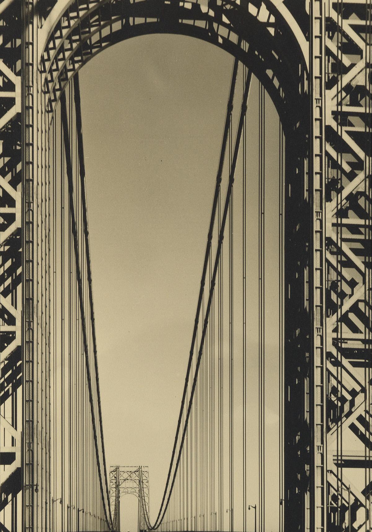 MARGARET BOURKE-WHITE (1904-1971) The George Washington Bridge.
