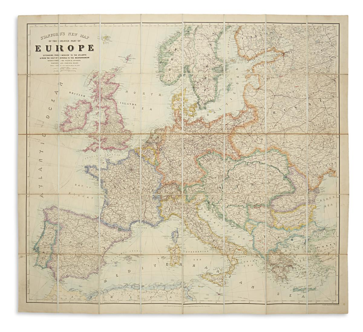 STANFORD-EDWARD-Stanfords-New-Map-of-the-Greater-Part-of-Eur